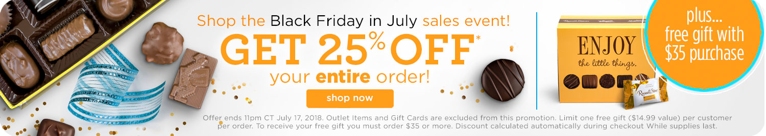 Save 25% on your entire order + Free Gift with orders of $35 or more!