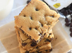 picture of Sugar Free Chocolate Chip Blondies