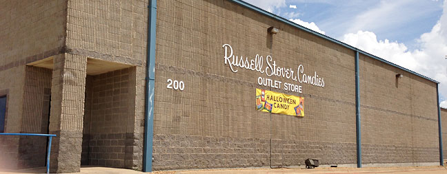 Storename Store 222 Russell Stover Chocolates Shop
