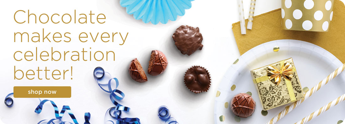 Chocolate makes every celebration better!. Shop For Gifts Now.