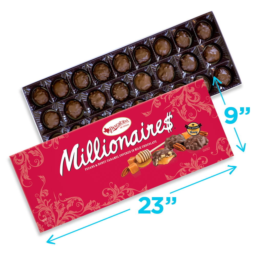 Image for Millionaires Big Gift, 23 oz. box from Russell Stover