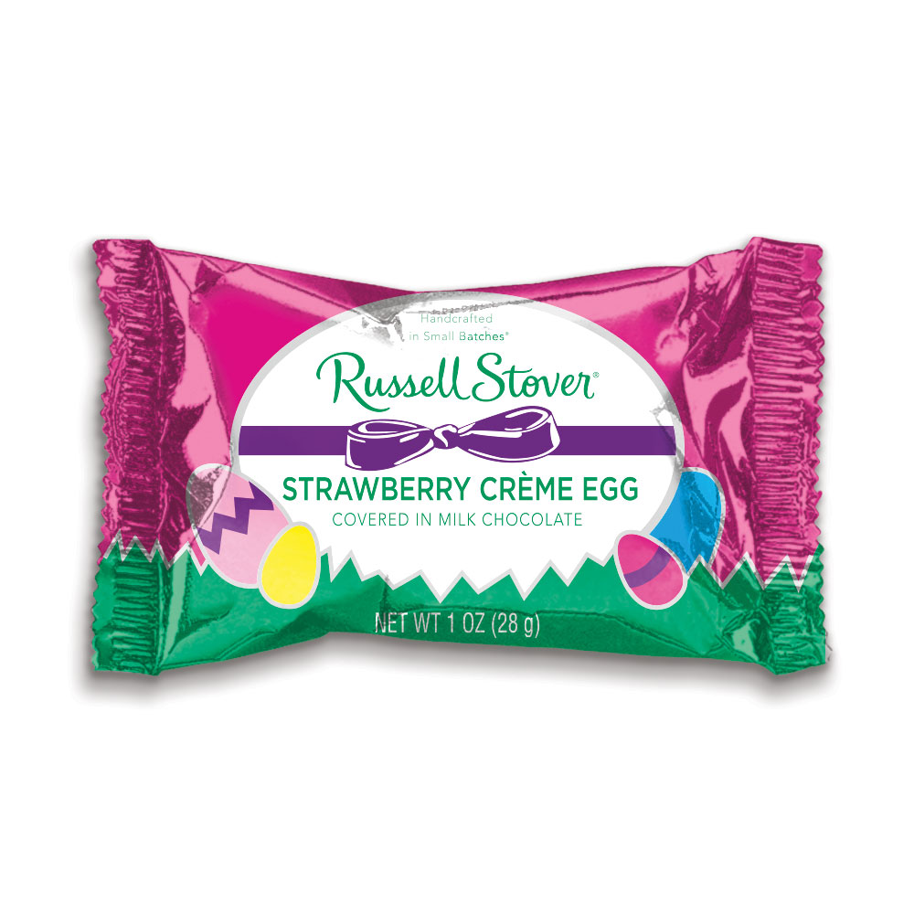 Image for Milk Chocolate Strawberry Cream Egg, 1 oz. from Russell Stover