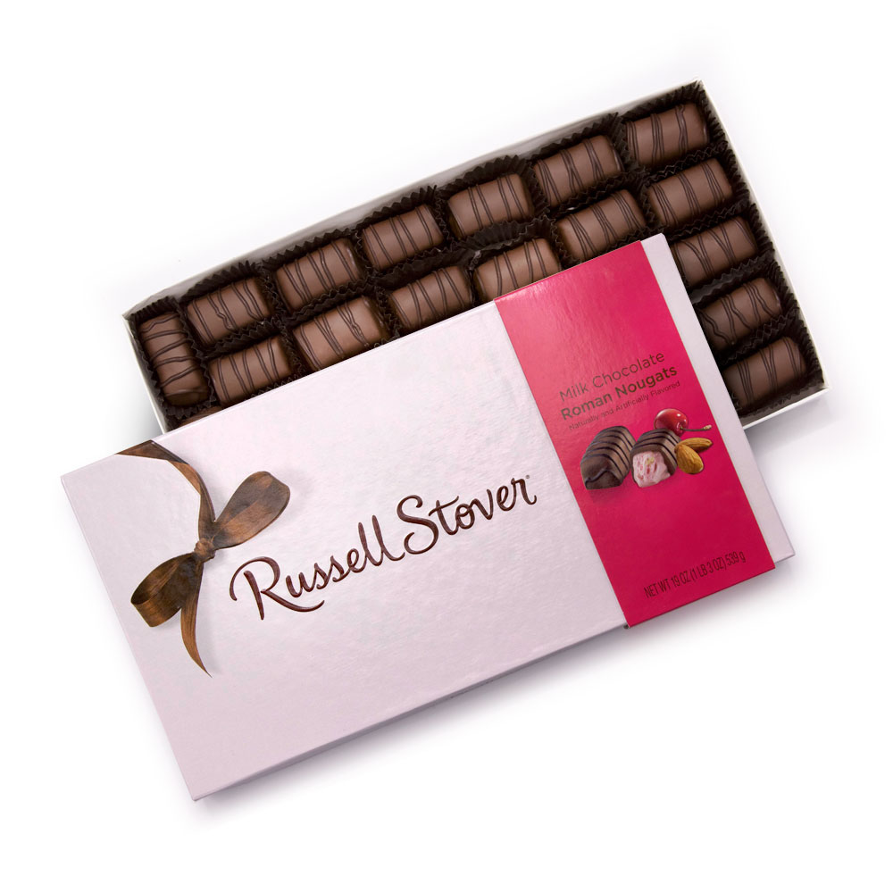 Image for Milk Chocolate Roman Nougat, 19 oz. Box from Russell Stover