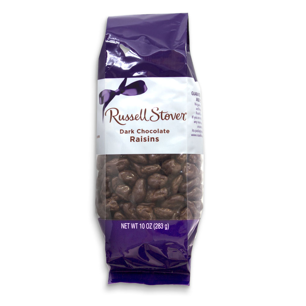 Image for Dark Chocolate Raisins, 10 oz. Bag from Russell Stover