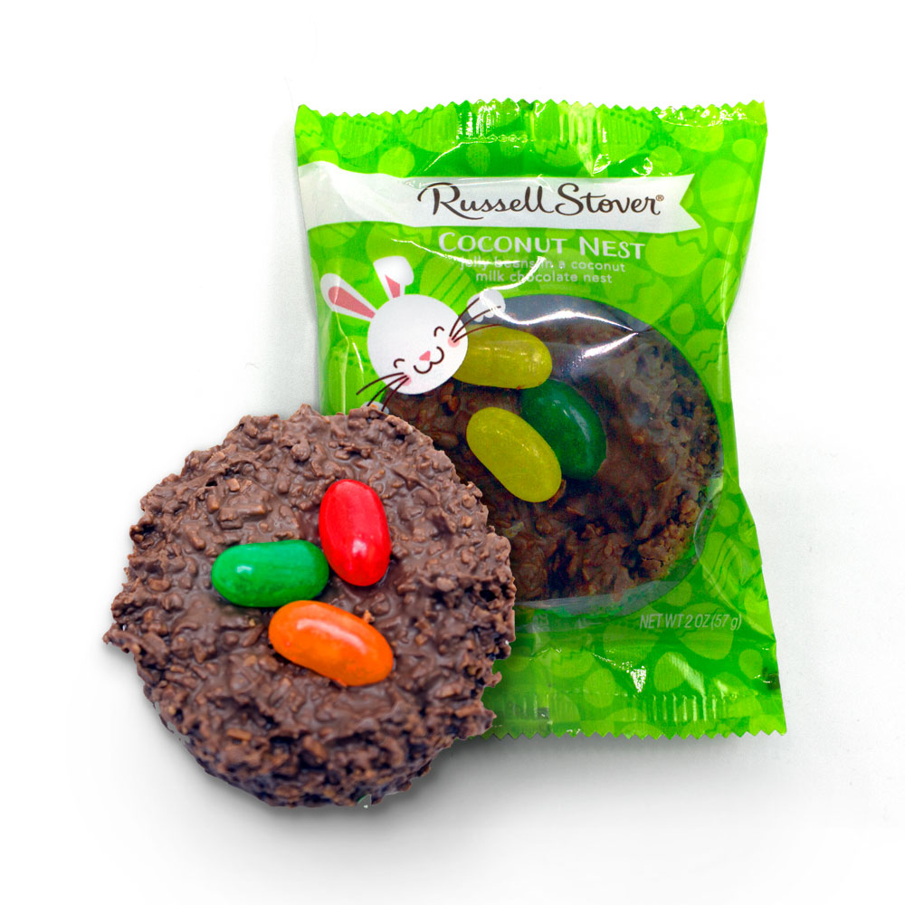 Image for Milk Chocolate Coconut Nest, 2 oz. from Russell Stover
