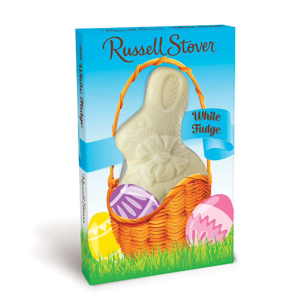 Image for White Pastelle Flatback Rabbit, 3 oz. from Russell Stover Chocolates