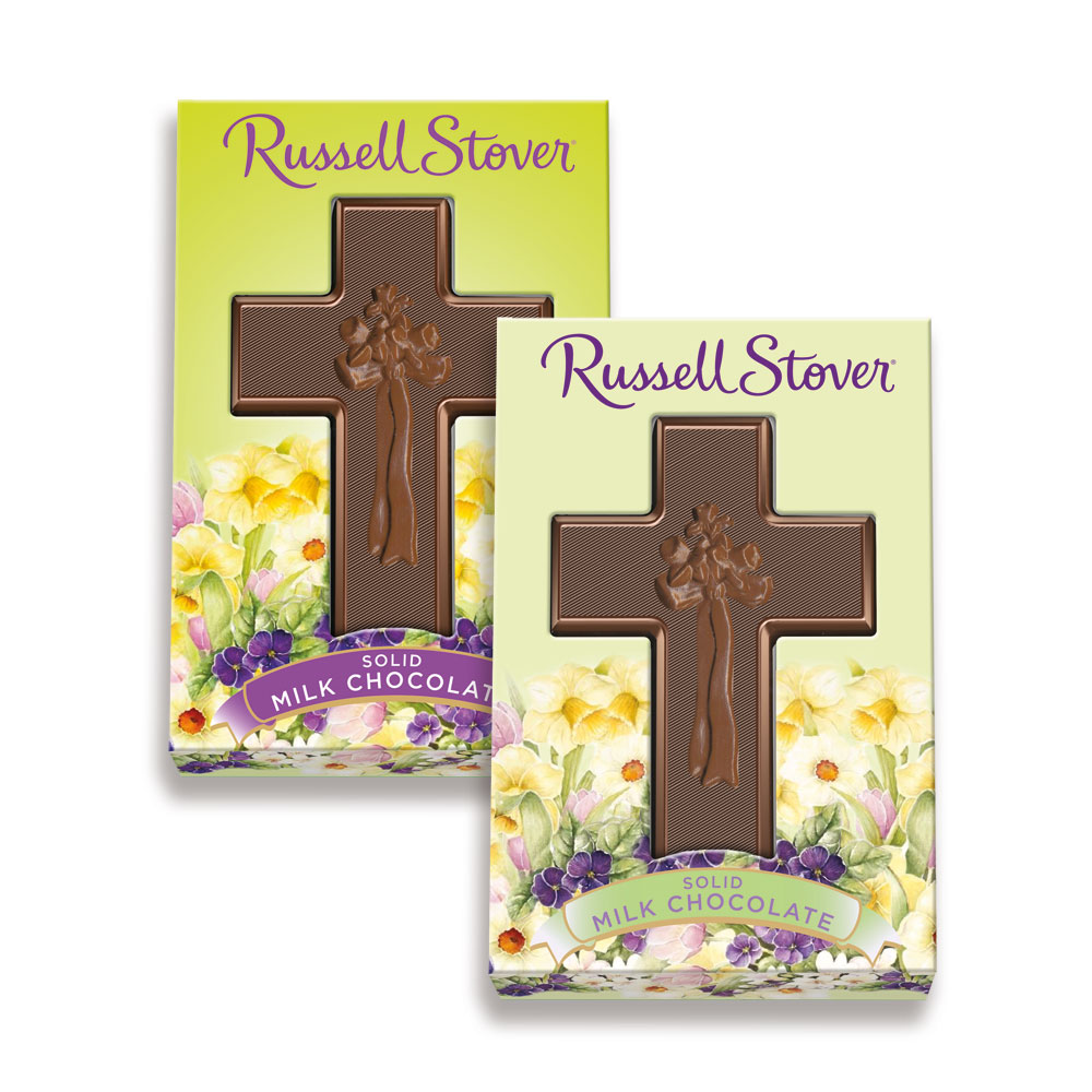 Image for Solid Milk Chocolate Cross, 1.5 oz. from Russell Stover