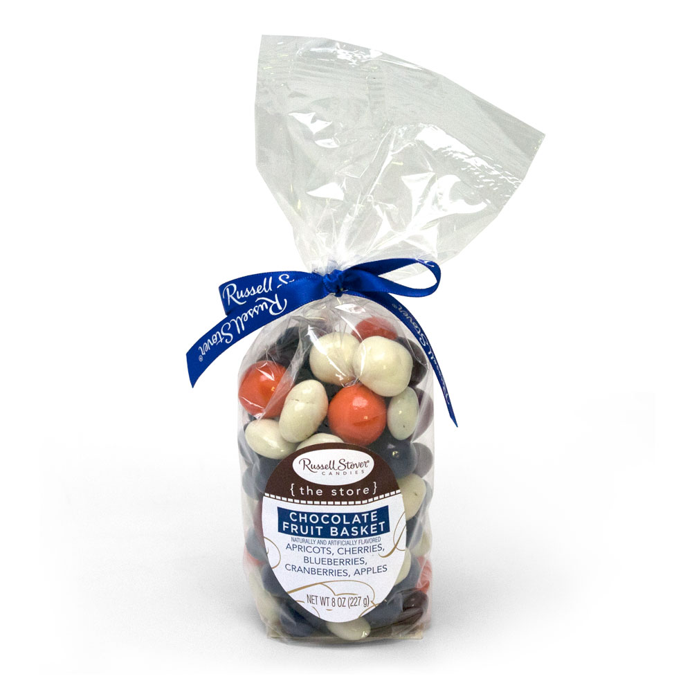 Image for Chocolate Fruit Basket, 8 oz. Bag from Russell Stover Chocolates