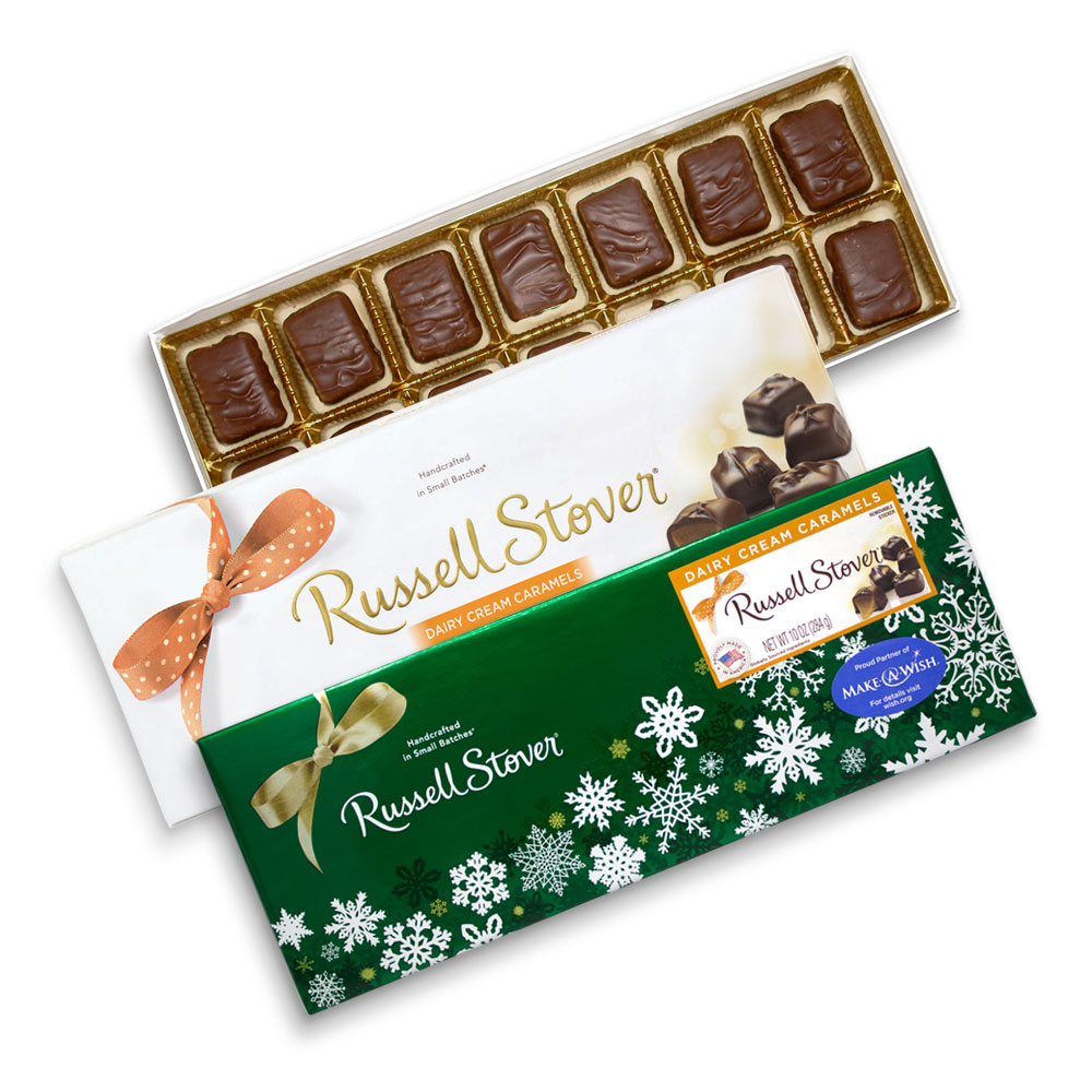 Image for Dairy Cream Caramels, 10 oz. Box from Russell Stover