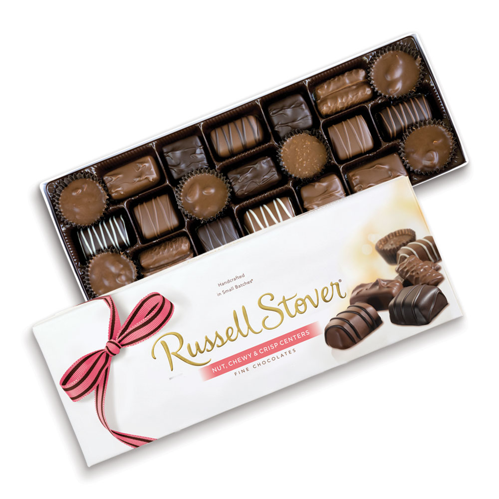 Image for Personalized Nut Chewy & Crisp, 12 oz. box from Russell Stover