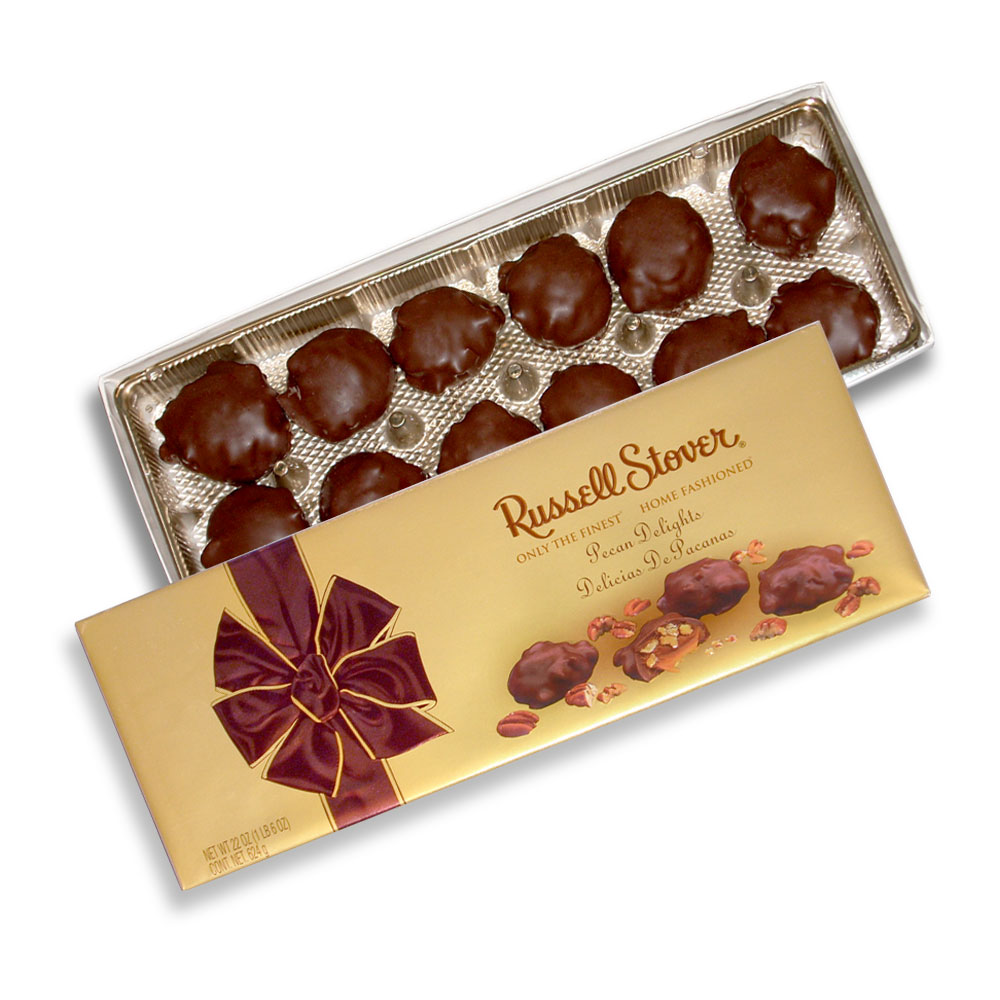 Image for Pecan Delights, 22 oz. Box from RussellStover