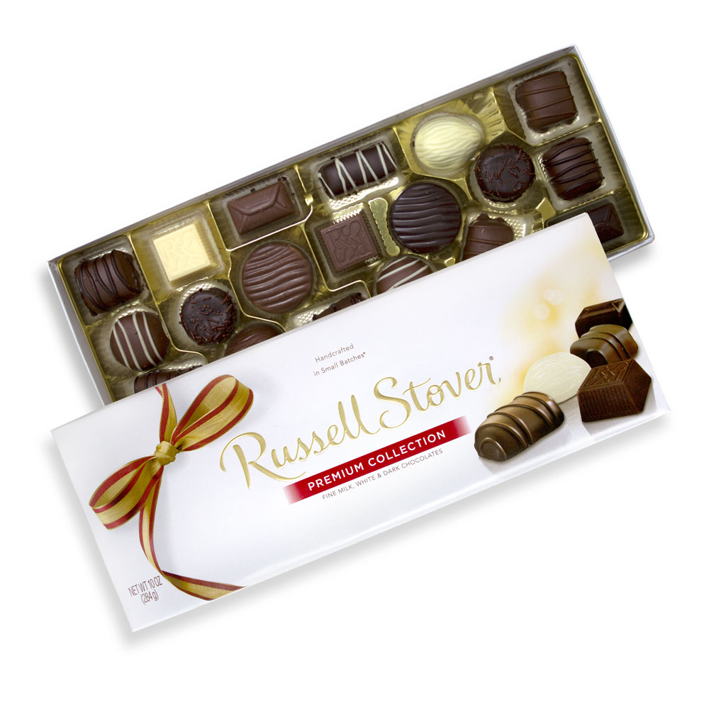 Image for Assorted Chocolates Premium Collection, 10 oz. Box from RussellStover