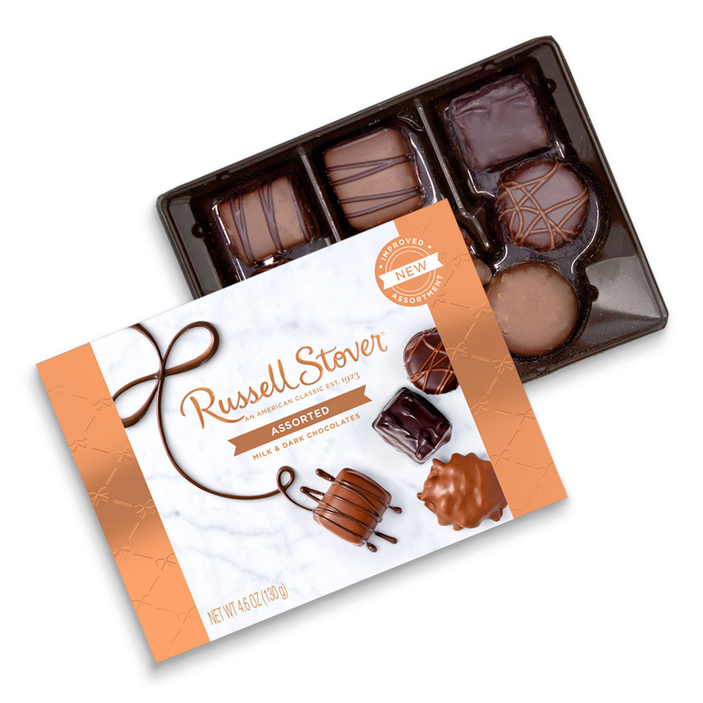 Image for Assorted Chocolates, 4.6 oz. Box from Russell Stover