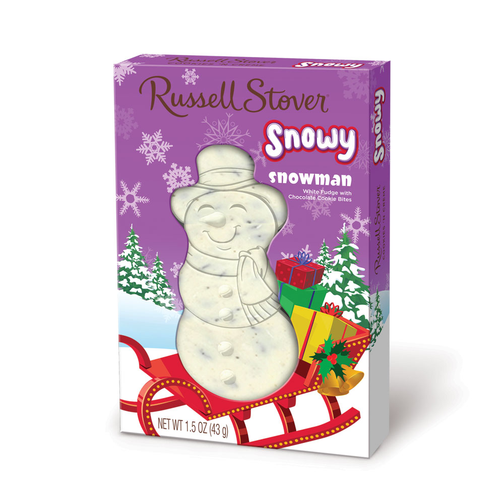 "Image for Cookies 'n Cream ""Snowy"" Snowman, 1.5 oz. Box from Russell Stover"