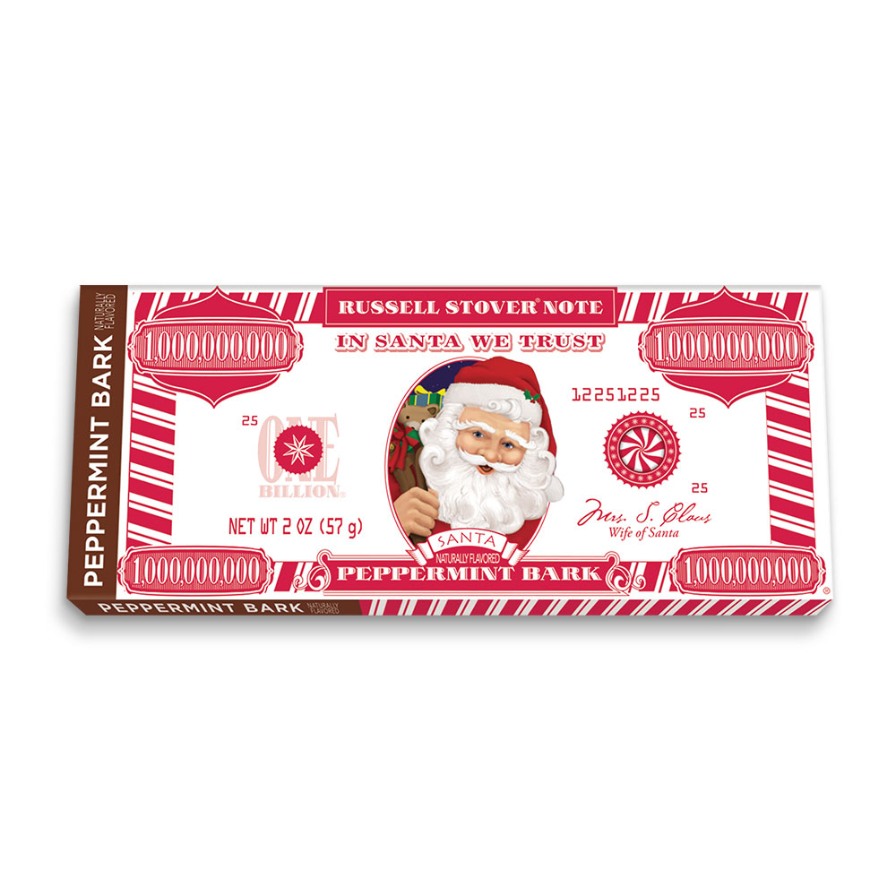 Image for Peppermint Bark Money, 2 oz. Bar from RussellStover