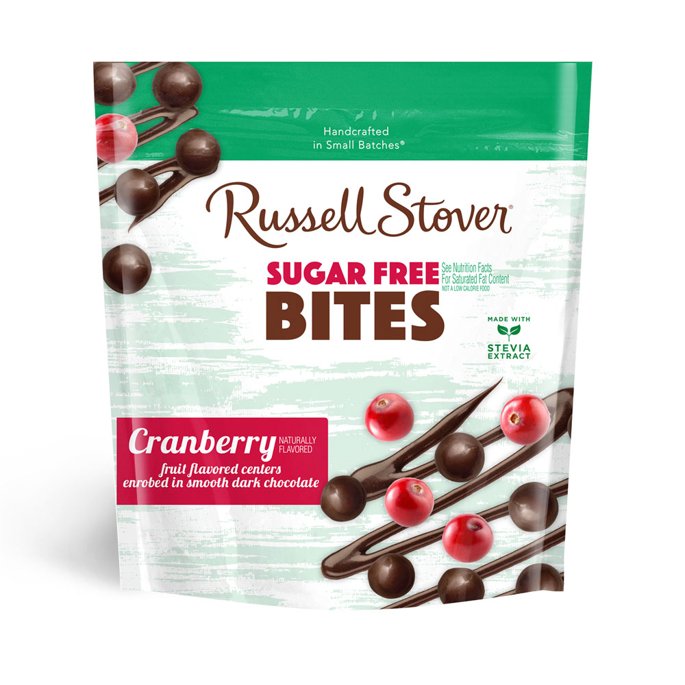 Image for Dark Chocolate Sugar Free Cranberry Bites, 5 oz. Bag from Russell Stover