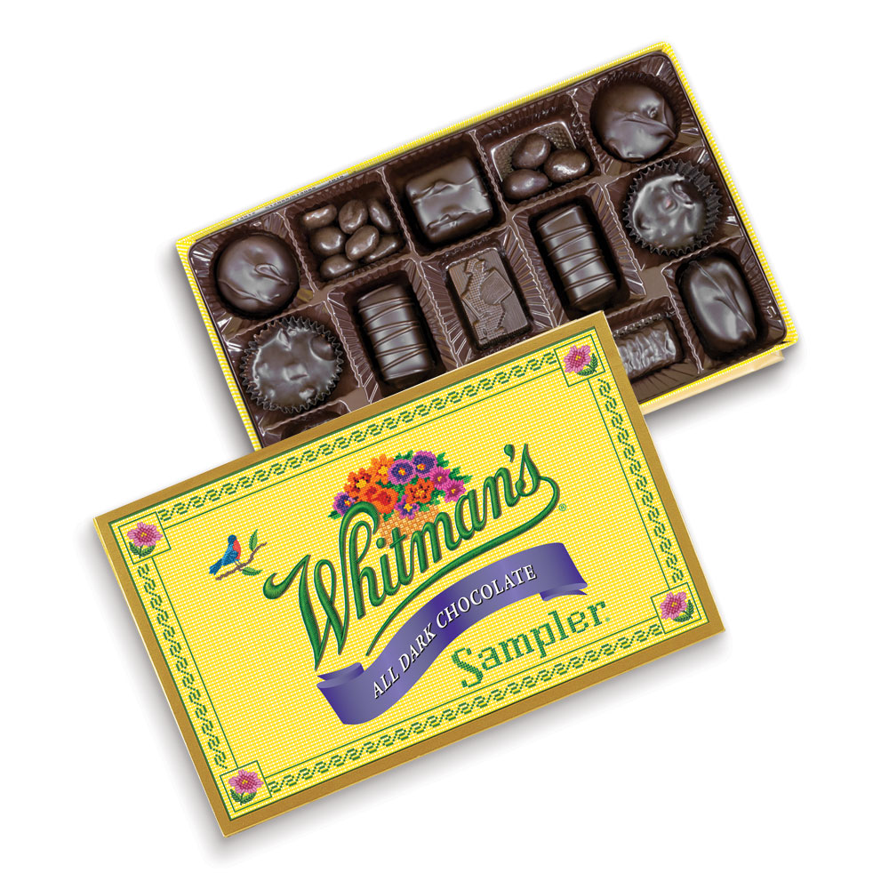 Image for Whitman's Sampler® Dark Chocolates, 12 oz. Box from Russell Stover