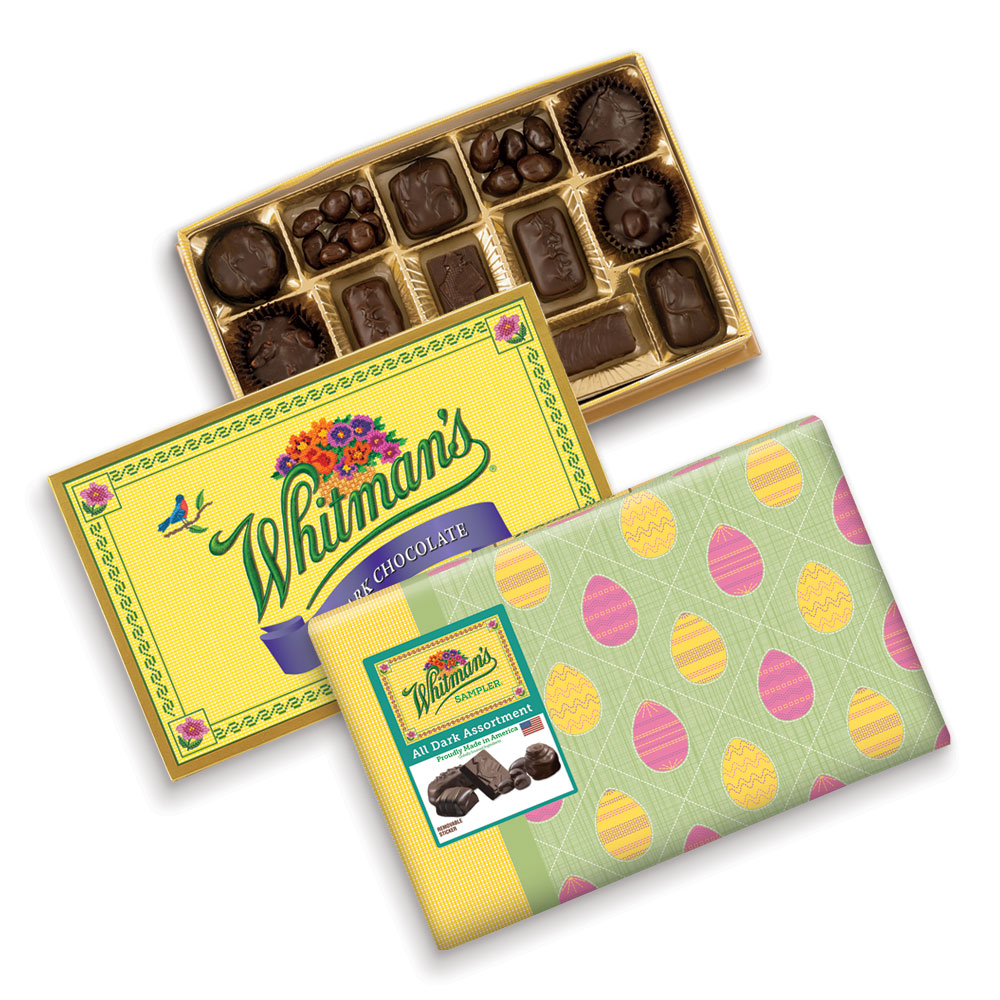 Image for Whitman's Sampler® Dark Chocolates, 12 oz. Box from RussellStover
