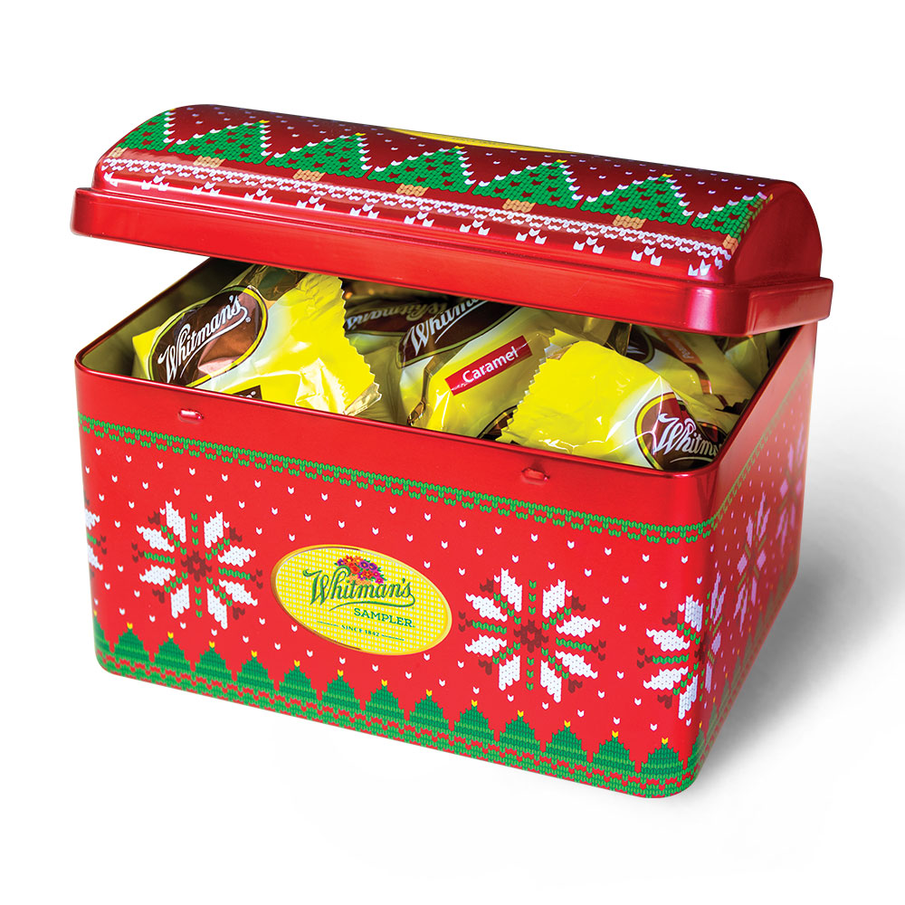 Image for Assorted Chocolates Treasure Chest, 7.25 oz. Tin from Russell Stover