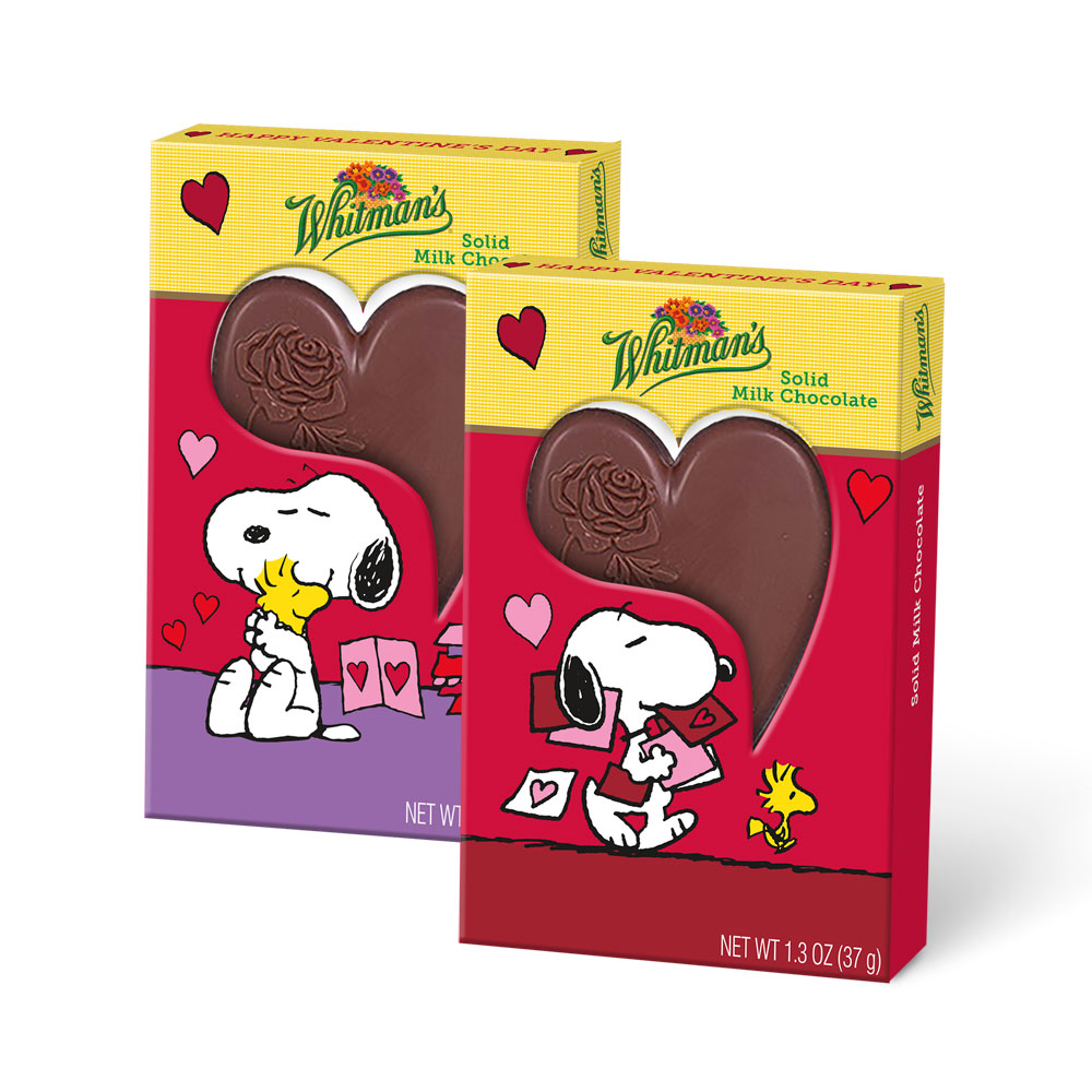 Image for Peanuts® Snoopy Flatback Heart Bar, 1.3 oz.- 50% OFF Discount Applied in Cart from Russell Stover