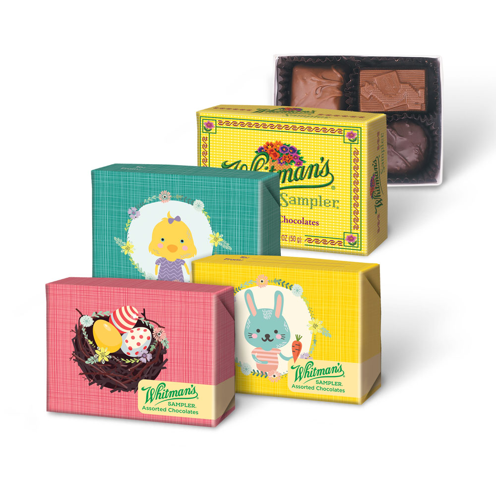 Image for Whitman's Sampler® Assorted Chocolates, 1.75 oz. Box from Russell Stover Chocolates