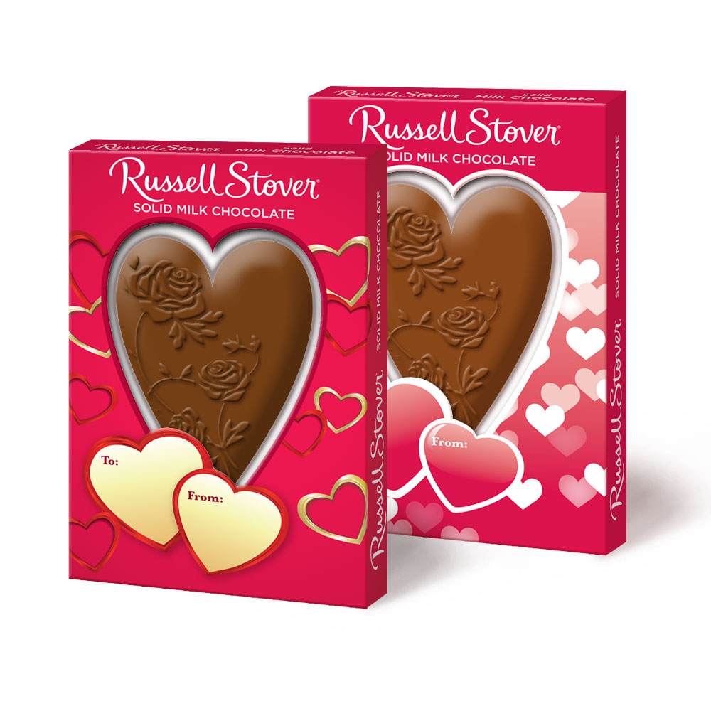 Image for Solid Milk Chocolate Heart, 1.5 oz. from Russell Stover