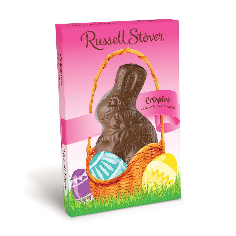 Image for Crispy Milk Chocolate Rabbit, 1.5 oz. from Russell Stover