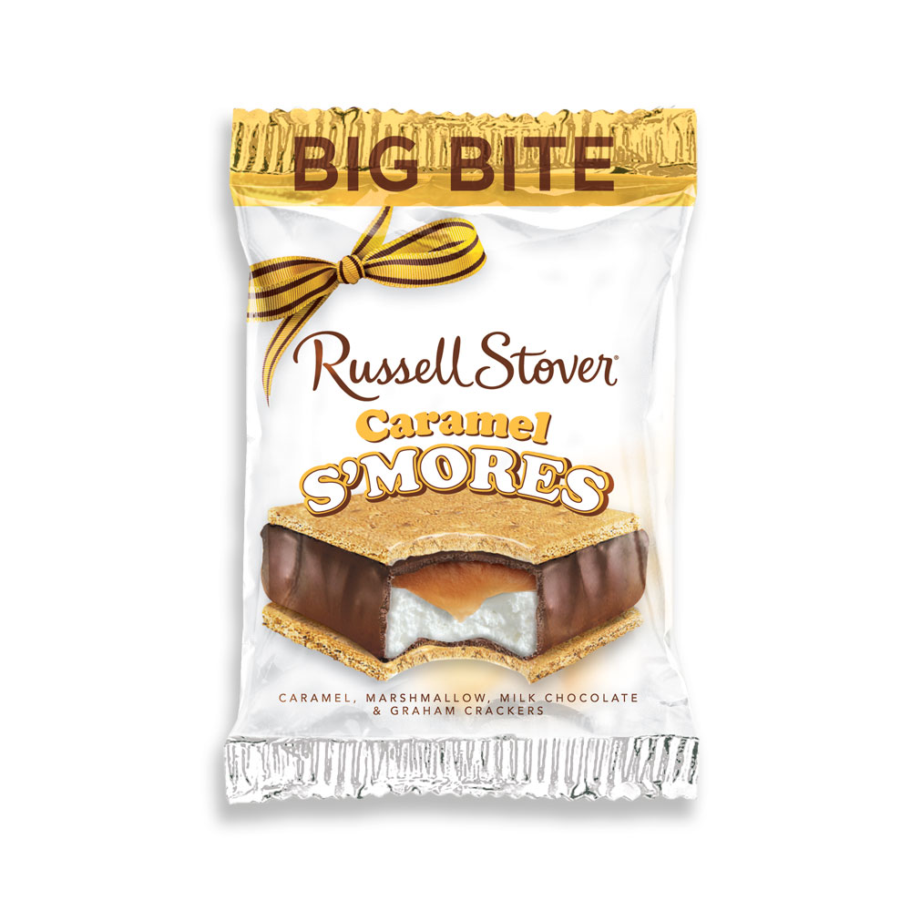 Image for Big Bite S'Mores Caramel And Marshmallow, 2 oz. Bar from RussellStover