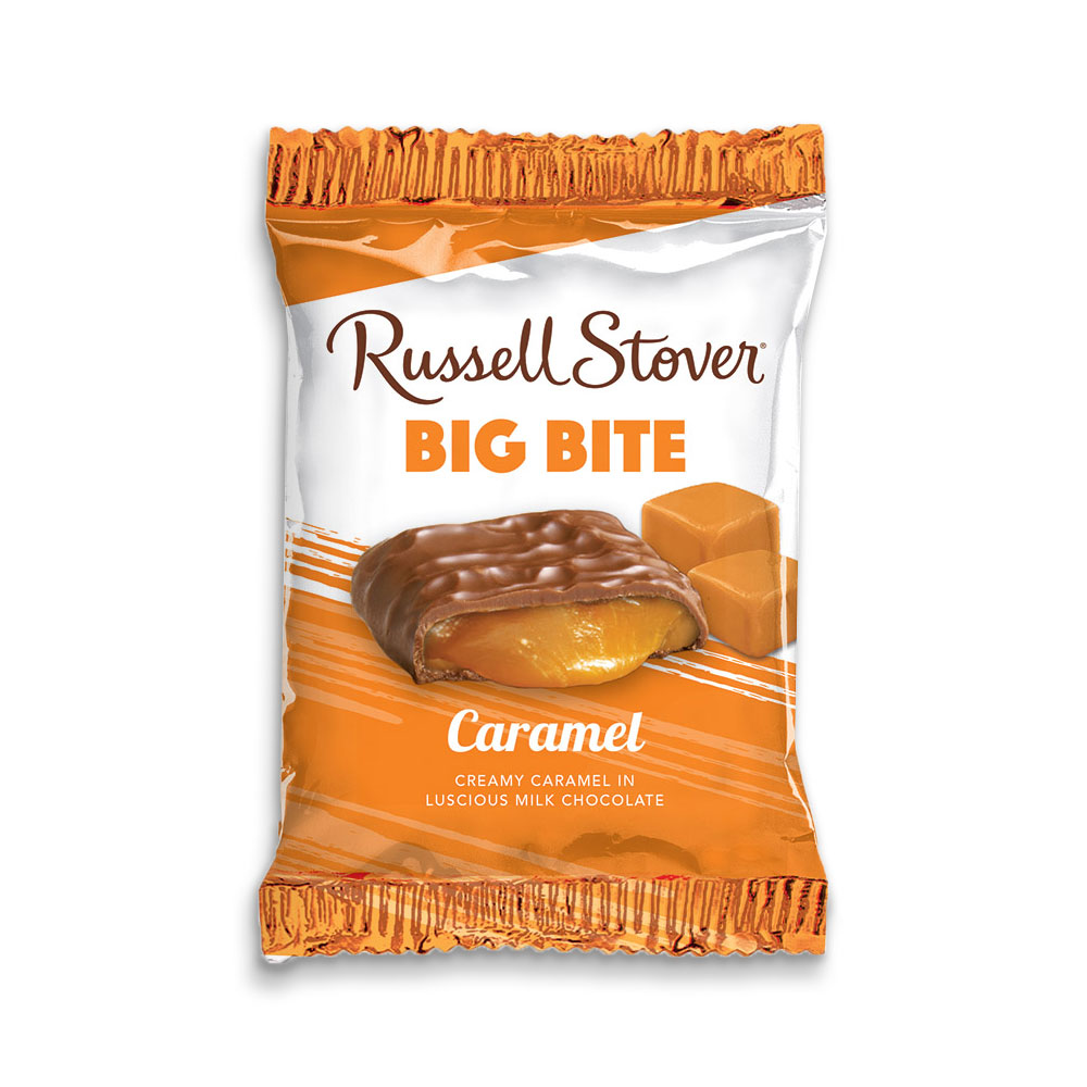 Image for Caramel Big Bite Bar, 2 oz. Bar from Russell Stover