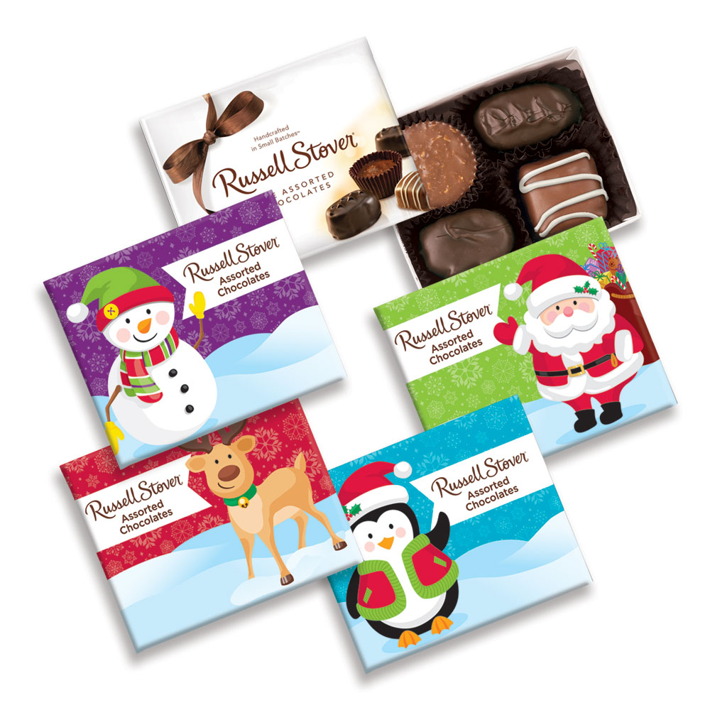 Image for Assorted Chocolates, 2 oz. Box from Russell Stover
