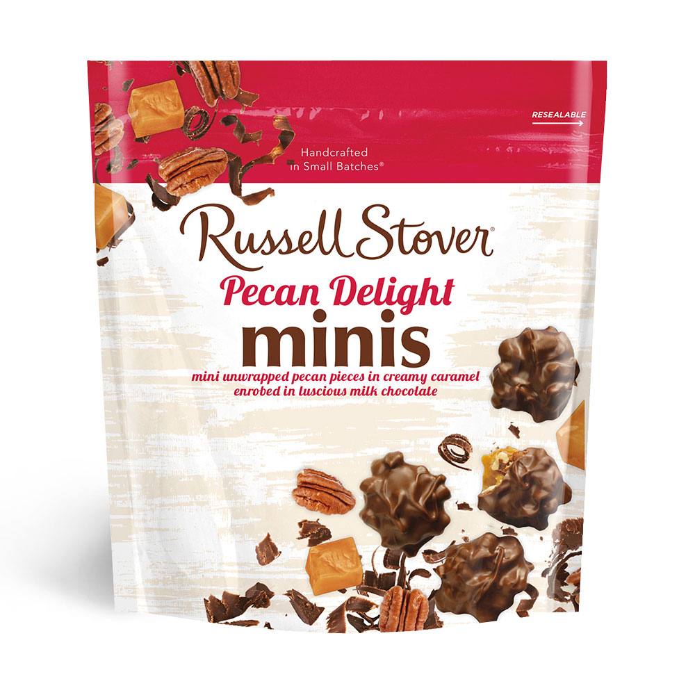 Image for Pecan Delights Minis, 6 oz. Bag from Russell Stover