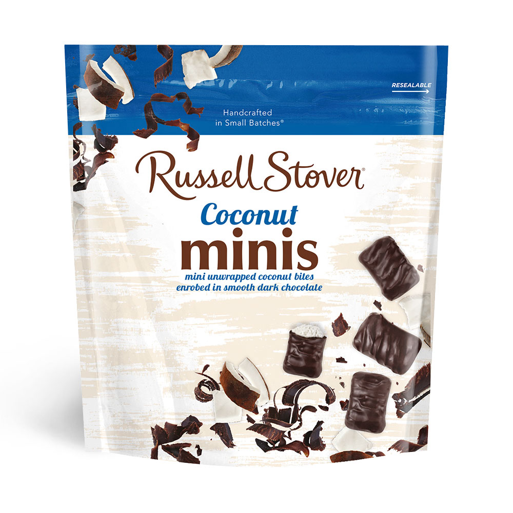Image for Dark Chocolate Coconut Minis, 6 oz. Bag from Russell Stover