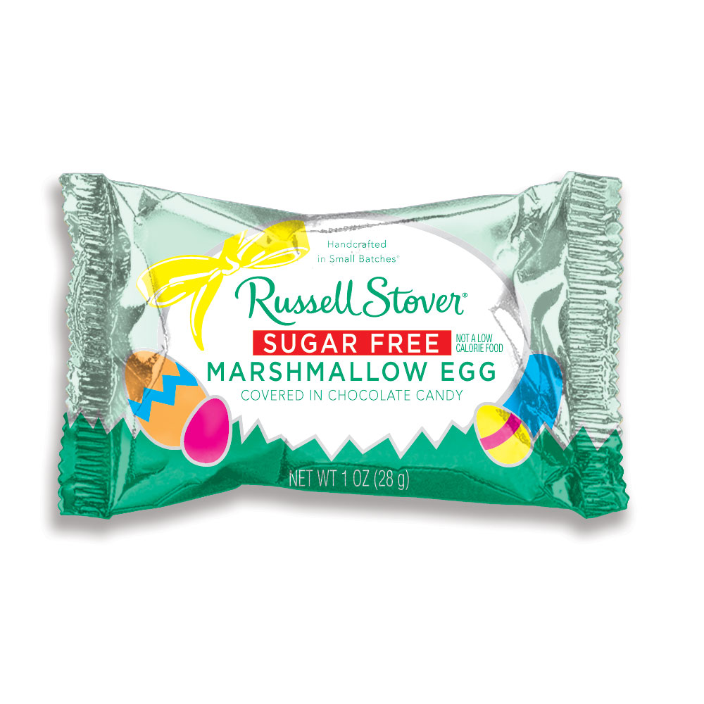 Image for Sugar Free Marshmallow Egg, 1 oz. from Russell Stover