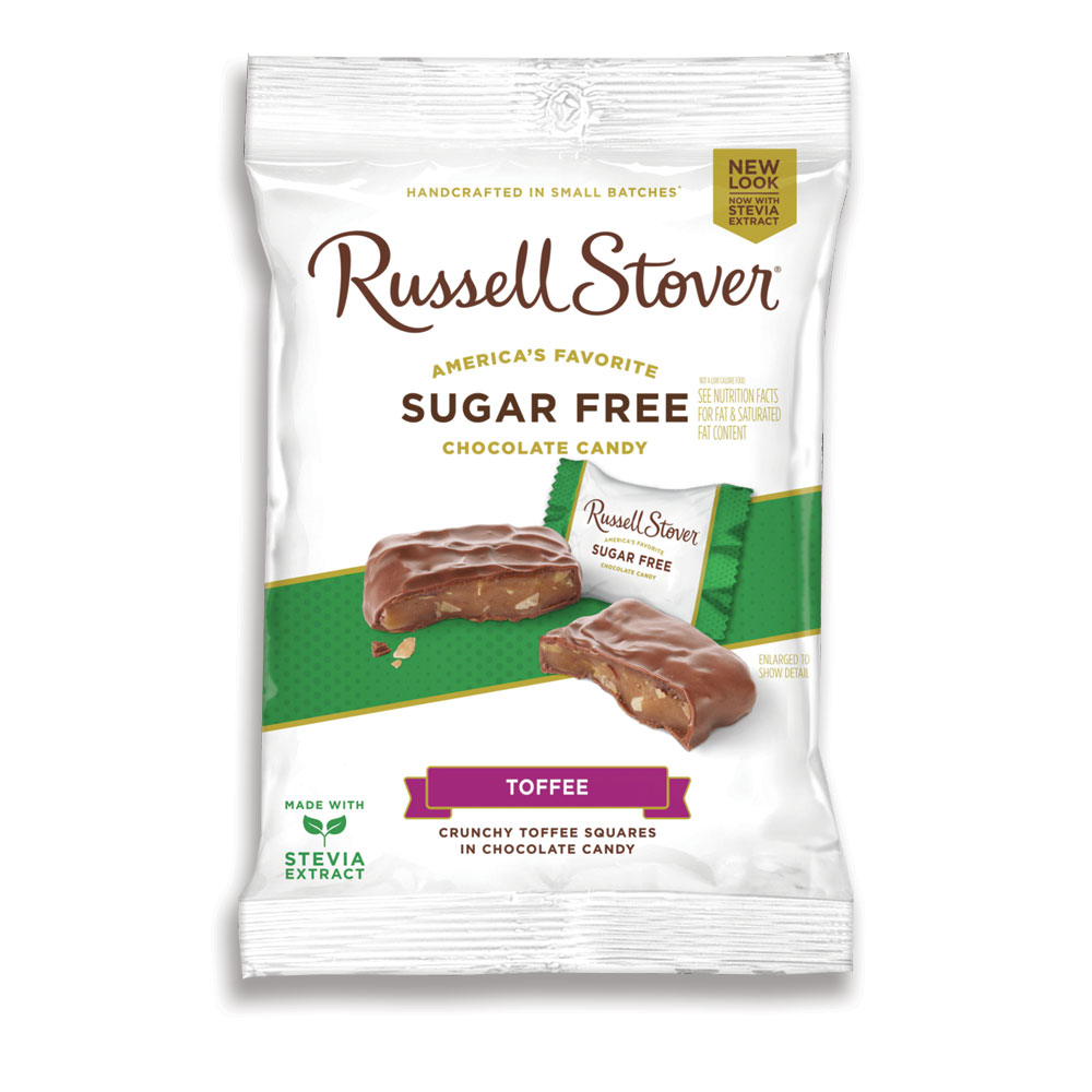 Image for Sugar Free Toffee Squares, 3 oz. Bag from Russell Stover