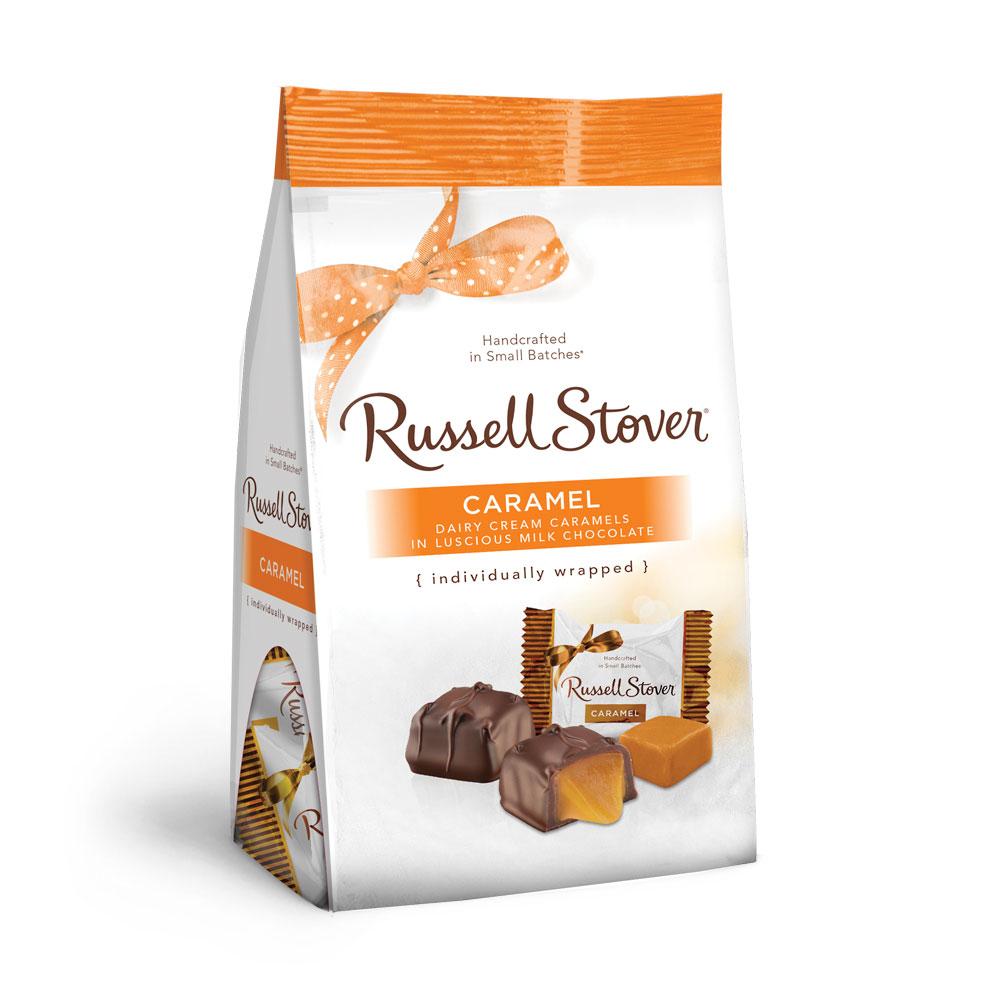 Image for Milk Chocolate Caramels Favorites, 6 oz. Bag from RussellStover