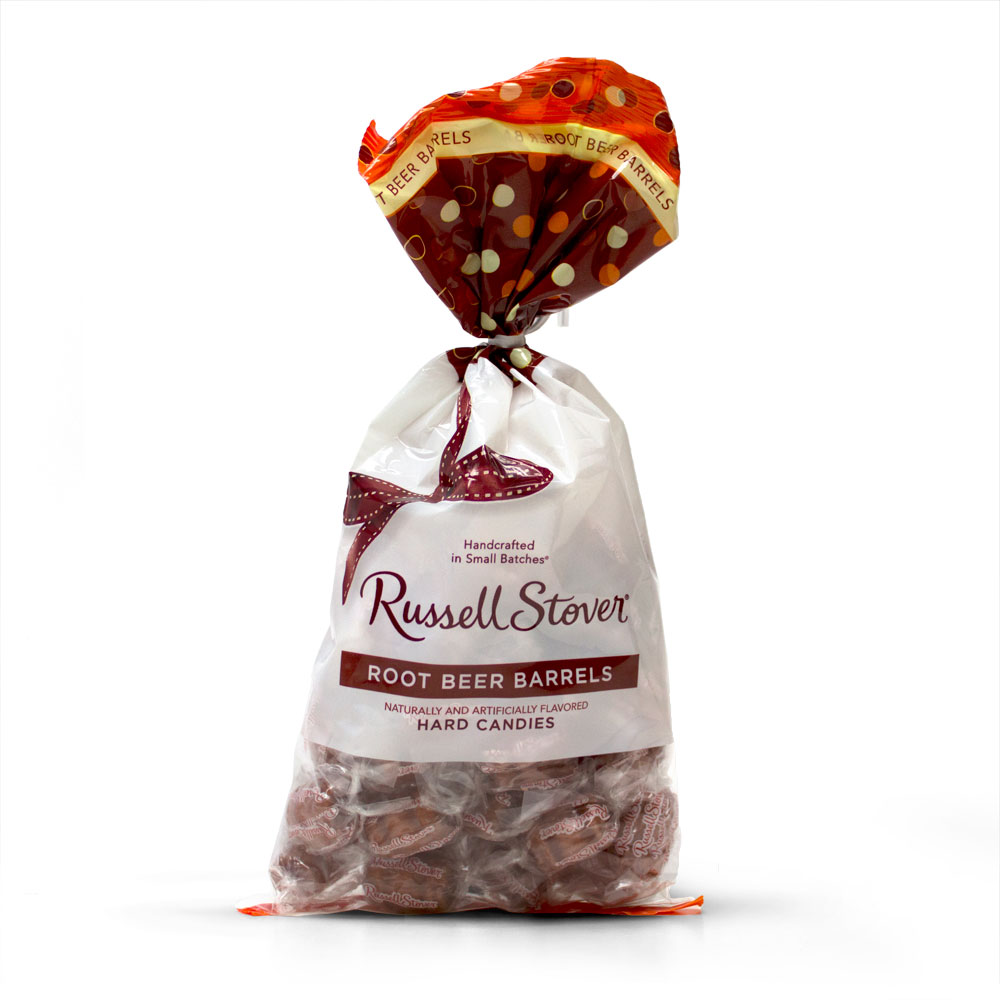 Image for Root Beer Barrels, 12 oz. Bag from RussellStover