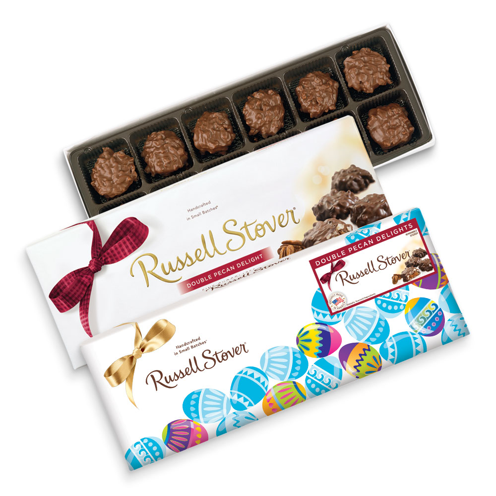 Image for Double Pecan Delights, 9 oz. Box from Russell Stover Chocolates