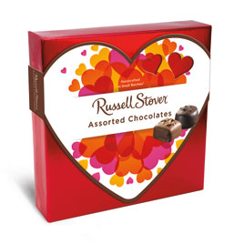Assorted Chocolates with Valentine Sleeve, 5.5 oz.