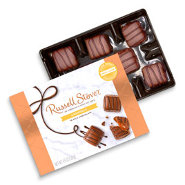 Milk Chocolate Caramels, 4.5 oz. Box