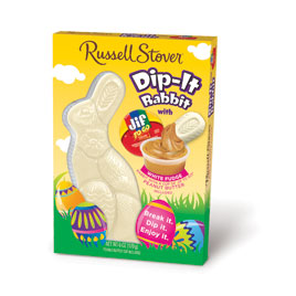 Solid White Pastelle Dip-It Rabbit with Jif® Peanut Butter Dip, 6 oz. 50% OFF – Discount applied in cart