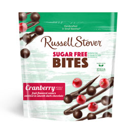 Dark Chocolate Sugar Free Cranberry Bites, 5 oz. Bag
