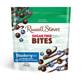 Dark Chocolate Sugar Free Blueberry Bites, 5 oz. Bag