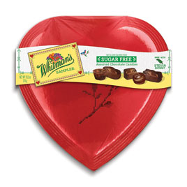 Sugar Free Sampler Heart, 10 oz.
