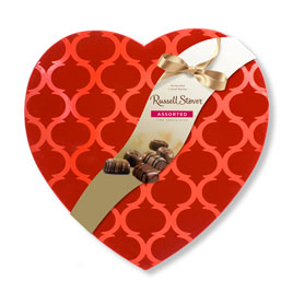 Assorted Flocked Argyle Heart, 30 oz.- 50% OFF Discount Applied in Cart