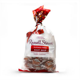 Sugar Free Root Beer Hard Candies, 12 oz. Bag