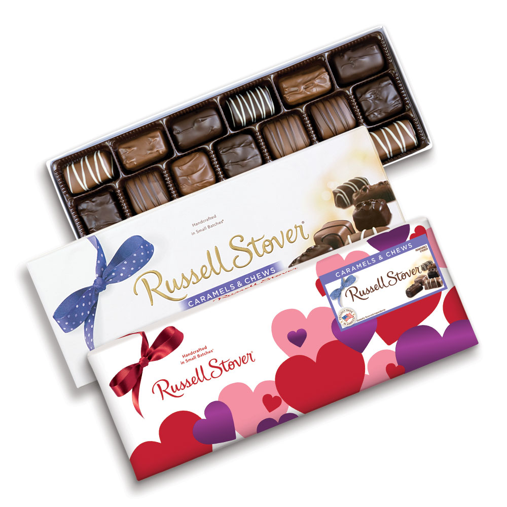 Image for Assorted Caramels and Chews, 11.5 oz. Box from Russell Stover