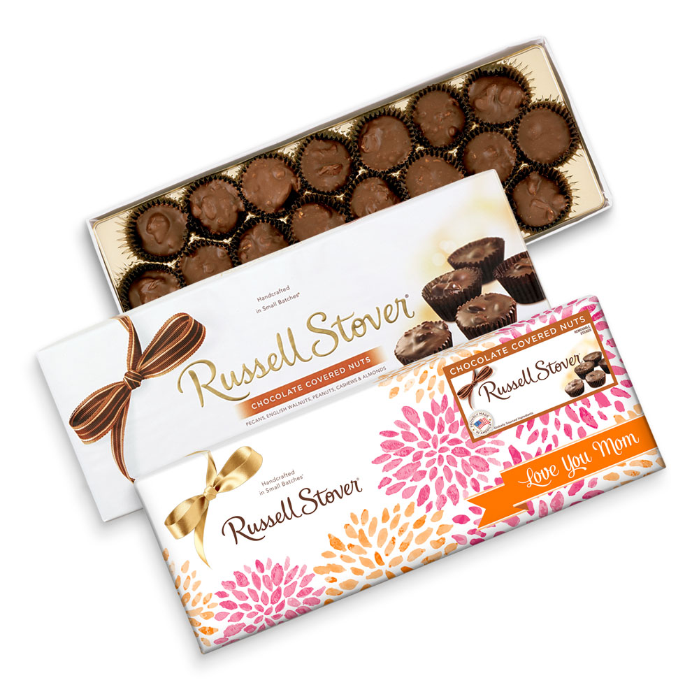 Image for Chocolate Covered Nuts, 10 oz. Box from Russell Stover