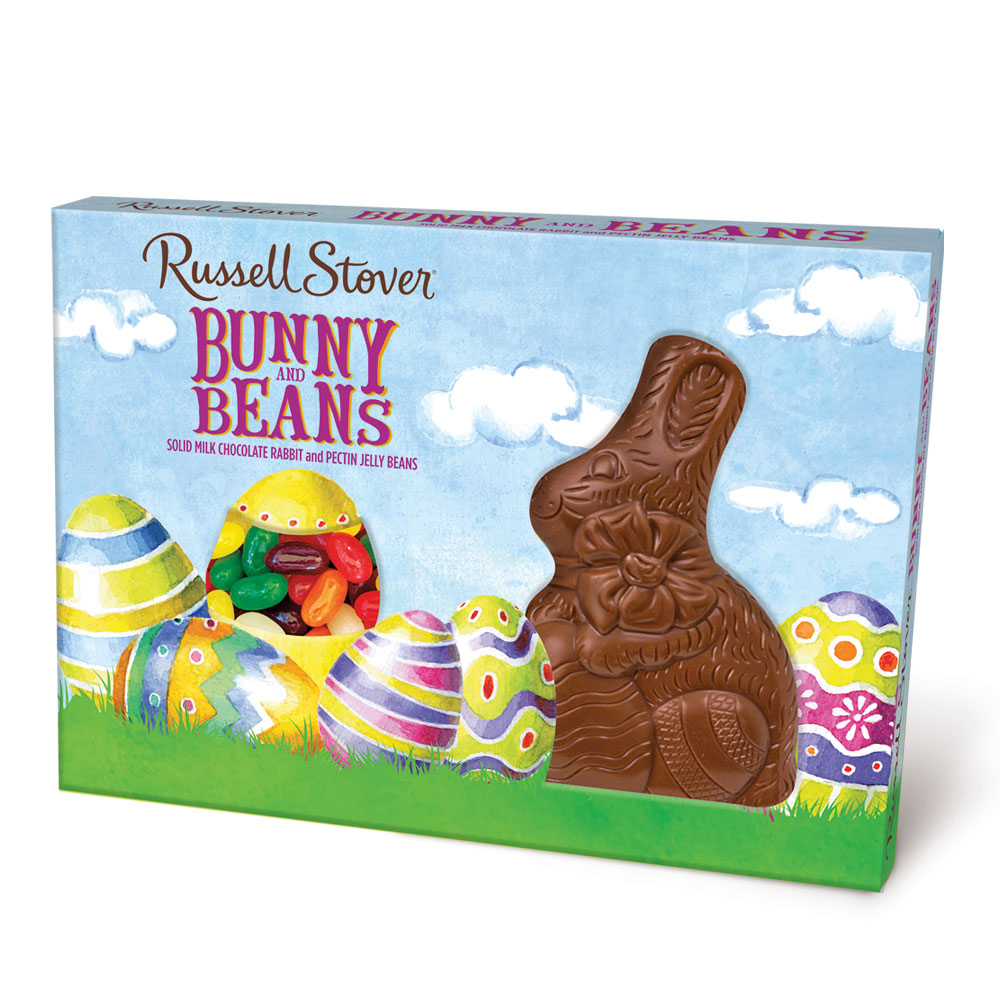 Russell Stover Chocolates coupon: Milk Chocolatebunny And Beans, 4.5 Oz. | Easter Seasonal | By Russell Stover