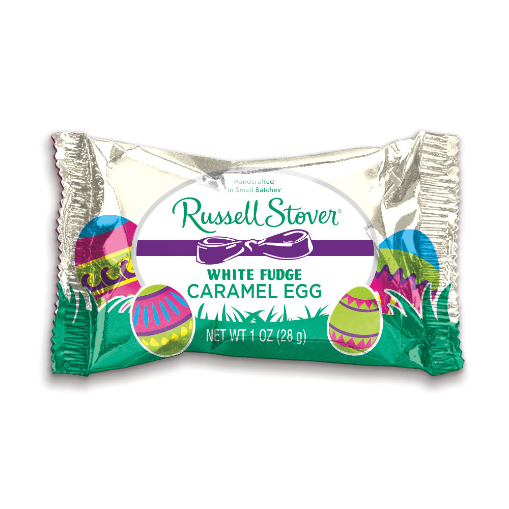 Image for White Pastelle Caramel Egg, 1 oz. Bar from Russell Stover
