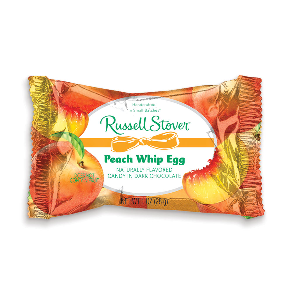 Image for Dark Chocolate Peach Whip Egg, 1 oz. Bar from Russell Stover